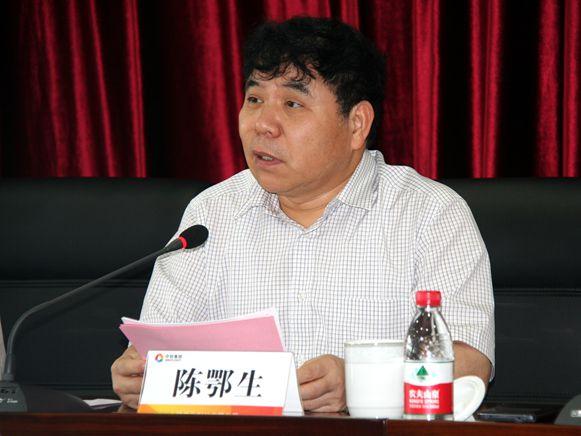 集团董事长,党委书记陈鄂生作重要讲话
